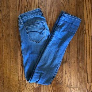 Blue bullhead jeans
